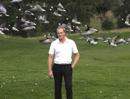 Millennium Golf course solves geese problem with Agrilaser Handheld