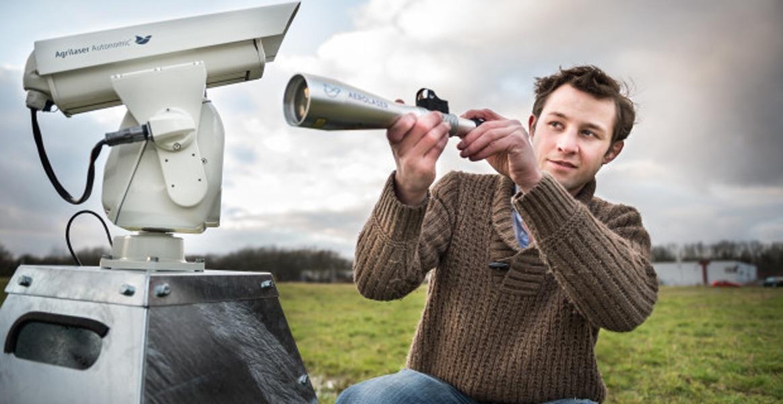 aerolaser autonomic bird repellent laser