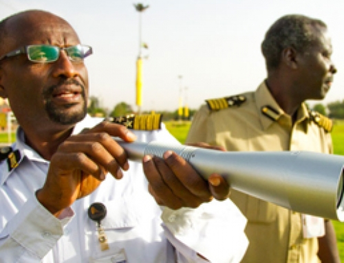Laser technology improves flight safety at African airport
