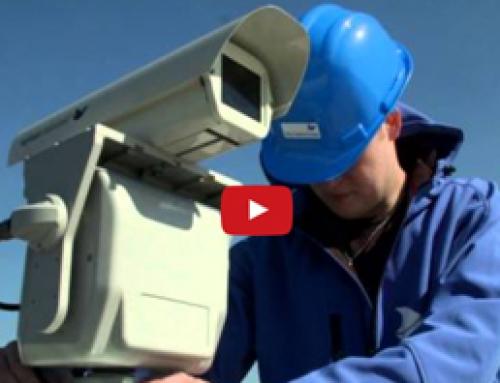 Vogels van daken verjagen met lasertechnologie