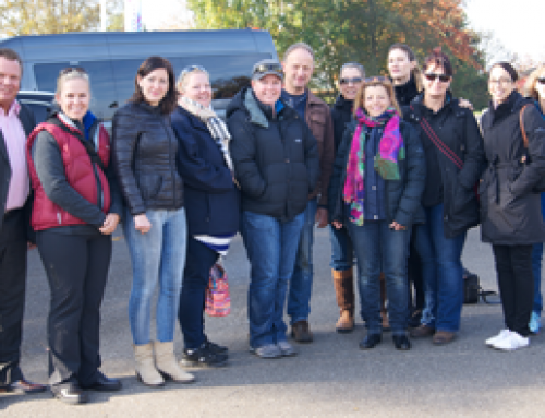 Women in Horticulture Tour visits Bird Control Group