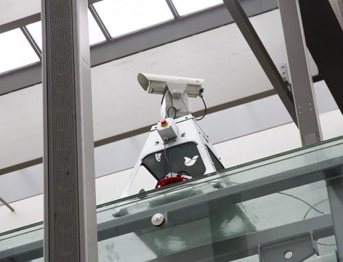 NS tevreden over proef met laser op Rotterdam Centraal