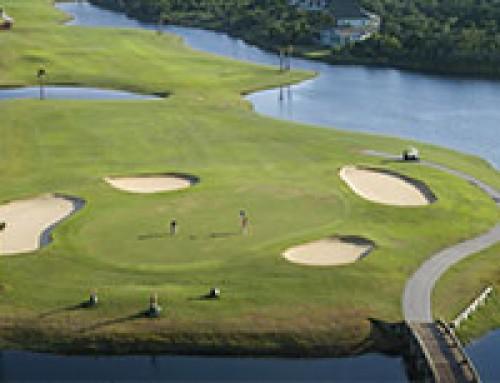 De Agrilaser Handheld verjaagt ganzen bij golfbanen