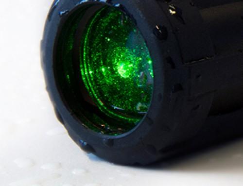 Laser technology for bird dispersal