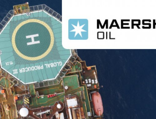 Maersk Oil solves the gull problem with the laser bird repellent