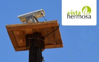 disuasión automática de aves con láser en Vista Hermosa