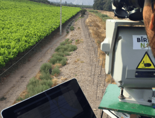 Deterring birds from table grape fields with automated laser bird repellents