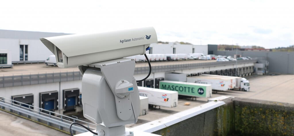 Bird Control Lasers to Repel Birds from Rooftops are Used
