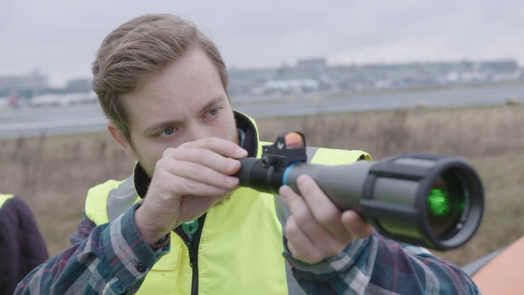 Laser Bird Deterrents to Prevent Bird Strikes