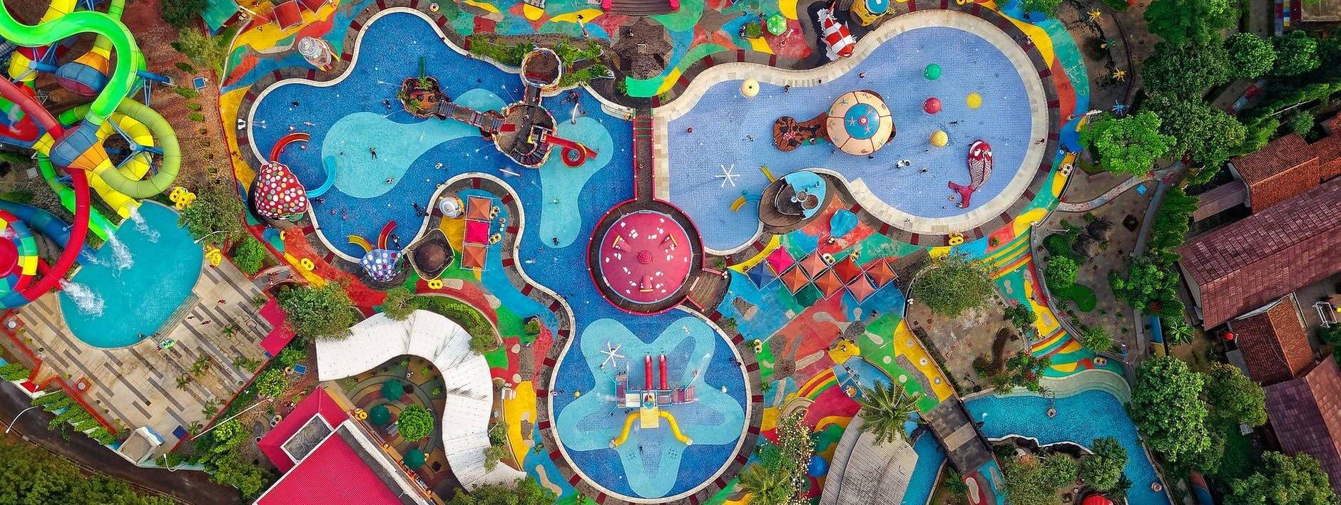Bird free water park