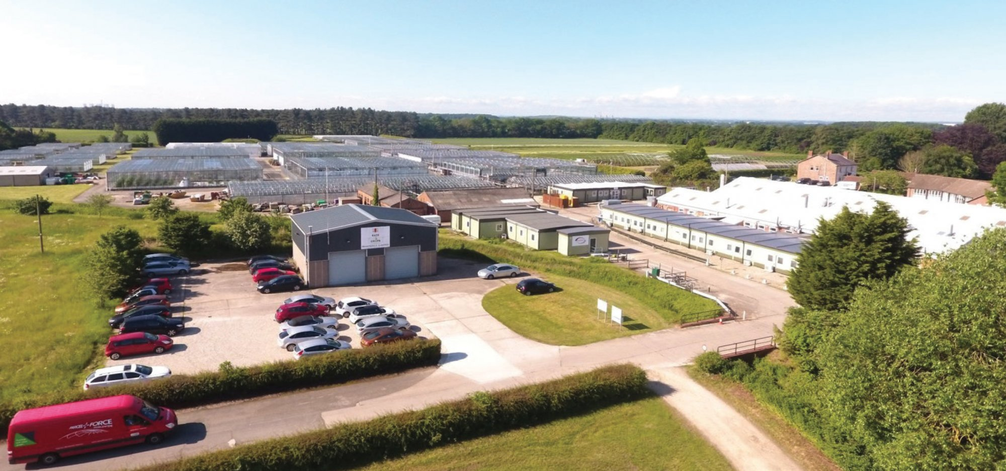 Stockbridge technology centre tests bird repellent