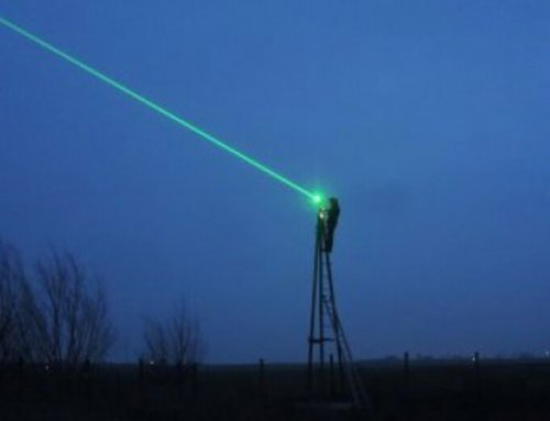 Lasers prevent the spreading of the avian influenza virus